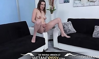 Wetandpissy - Acquiring Wet To Orgasm - Peeing Her Pants