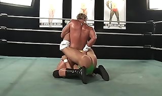 Wedgie Time for Wrestler