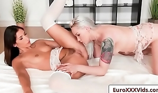 Euro XXX Sex Party - Angels In Lace with Lola Taylor and Clea Gaultier porn vid-02