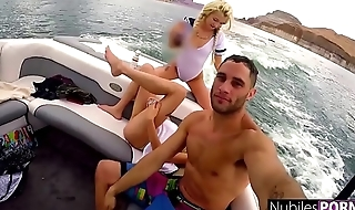 Hot BFFs Fuck On Sailing-yacht And Give Public Orgy Show S1:E3