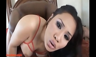 HD fat tight pussy asian get monster black cock