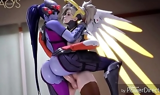 Overwatch windowmaker and mercy HD