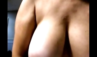 Big bouncing tits riding my cock