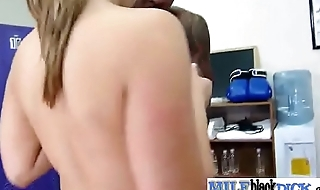 Sexy Hot Mature Lady (dayna) Ride Monster Black Cock On Camera video-04