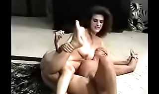 Blonde vs Brunette Lesbian Catfight into carnal knowledge